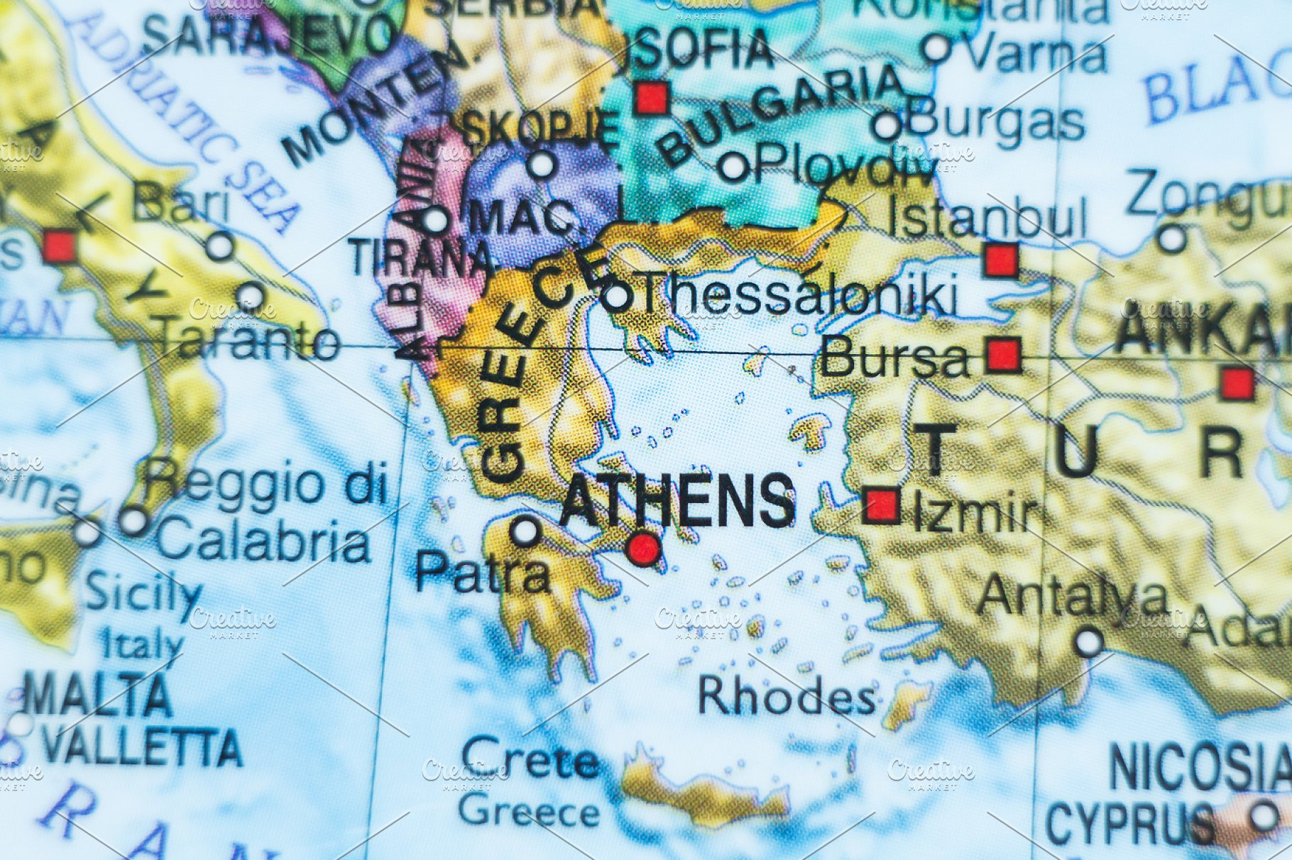 Country Of Greece Map.Greece Country Map