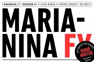 Marianina FY (12 fonts)