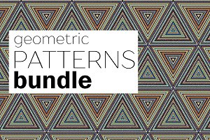35 geometric patterns.