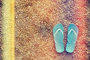 Vintage Summer Flip Flops