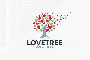 Love Tree Logo Template