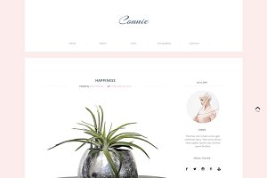 Blogger Template Responsive - Connie