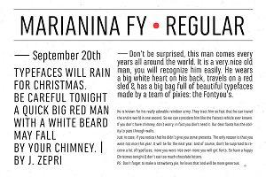 Marianina FY Regular
