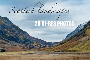 "Photo bundle ""Scottish Landscapes"""