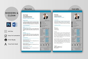 Clean  Resume / Cv  Template-V029