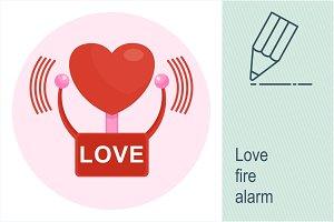 Love fire alarm