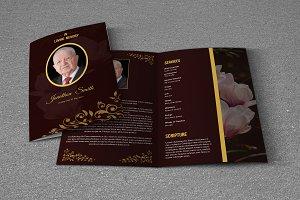 Funeral Program Template-T661