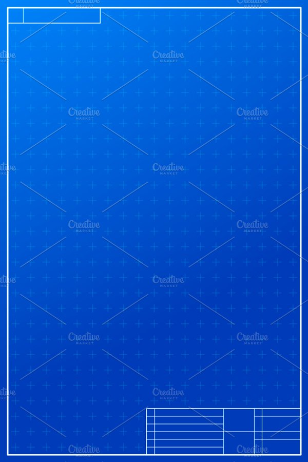 layout template in blueprint style illustrations creative market