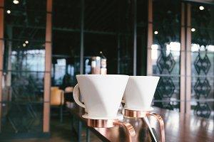 Coffee dripper prepare making coffee