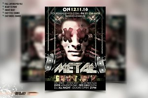Metal Party Flyer