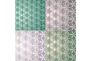 Floral 3d patterns