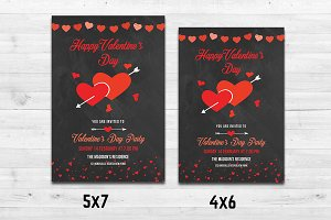 Valentine Party Flyer-V485
