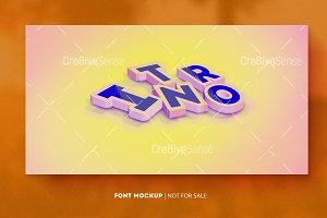 Font Mockup