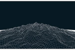 Landscape Vector Geometry