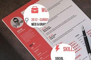 Flat Resume + Cover Letter