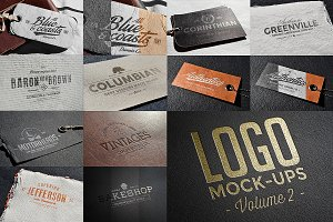 Logo Mock-ups Vol.2
