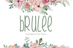 Brulee Font Duo