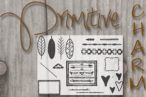 Primitive Handsketched Bundle