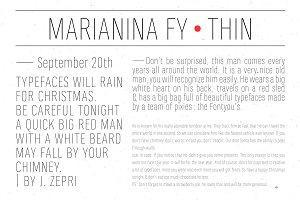 Marianina FY Thin