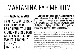 Marianina FY Medium