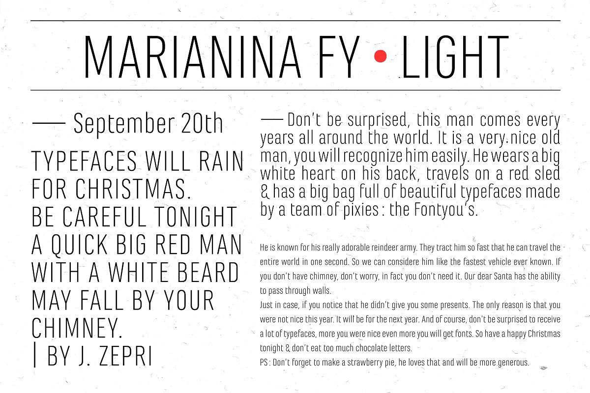 Marianina FY Light