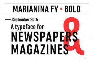 Marianina FY Bold