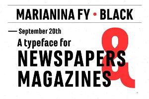 Marianina FY Black