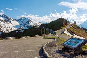 Scenic Grossglockner alpine road
