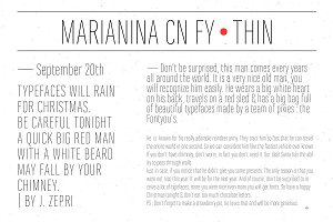 Marianina Cn FY Thin