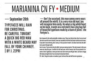 Marianina Cn FY Medium