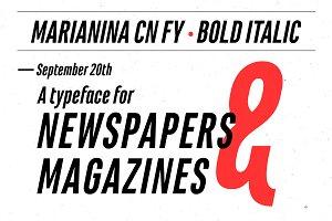 Marianina Cn FY Bold Italic