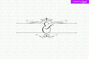 Minimalist Wedding Logo, Modern Logo