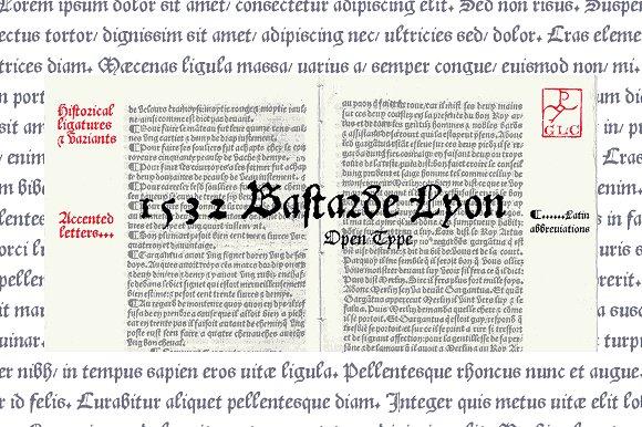 1532 Bastarde Lyon OTF