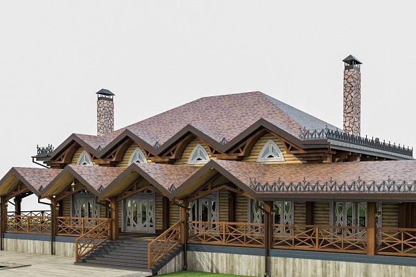 3D Architecture - Chalet House