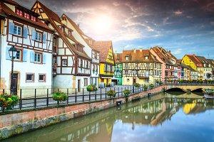 Colmar cityscape, France