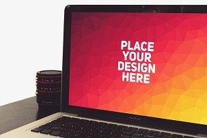 MacBook Display Mock-up#4