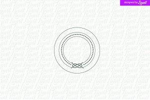 Stamp Wedding Logo