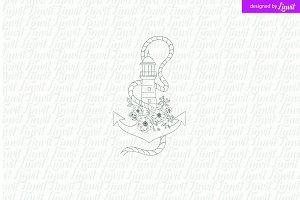 Anchor  Wedding Logo