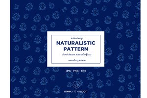 Hand drawn Naturalistic Pattern