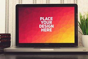 MacBook Display Mock-up#8
