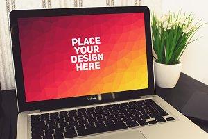 MacBook Display Mock-up#9