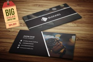 Photography Business Card V.2