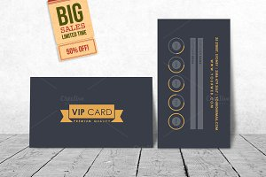 VIP/Loyalty Card Template