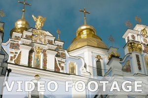 St. Michael Golden-Domed Monastery in Kiev Ukraine