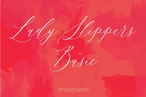 Lady Slippers Basic 30% OFF!