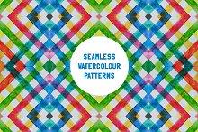 Seamless Watercolour Patterns