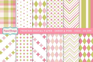 Princess Digital Paper / Background