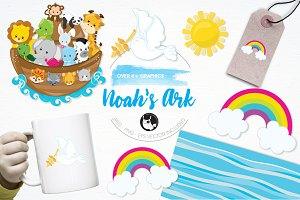 Noah's ark illustration pack