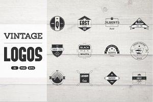 Vintage Logo Pack - designer kit