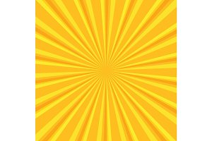 Yellow colored back pop art style background